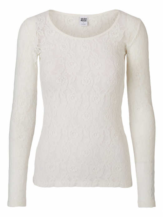 LILLY LACE LS TOP NOOS