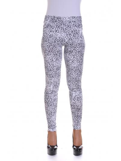 Pantalones Mujer Blanco Con Lunares Vero Moda