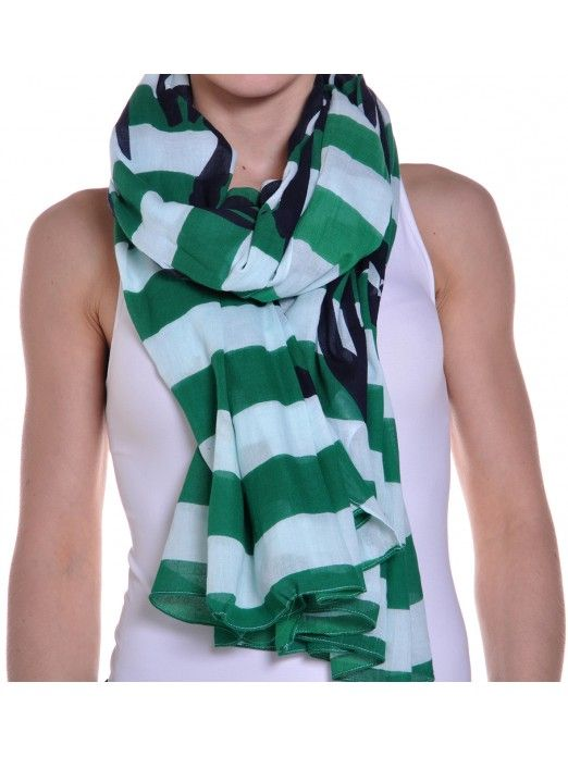 Bufanda Mujer Verde Vero Moda
