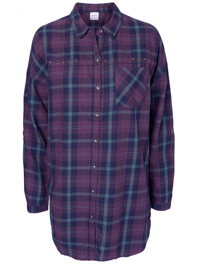 LOUIE L/S LONG SHIRT DNM