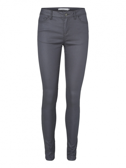 SEVEN NW SUPER SLIM COATED PANTS COLOR