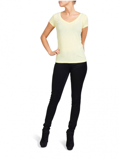 T-Shirt Woman Yellow Only