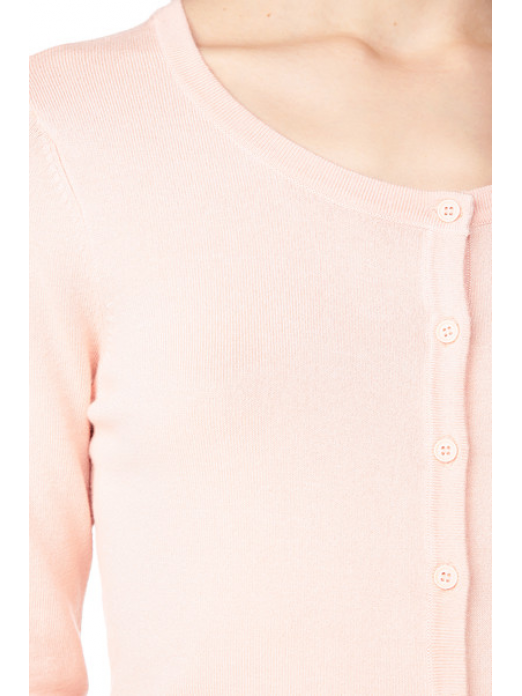 GLORY NEW LS O-NECK CARDIGAN COLOR