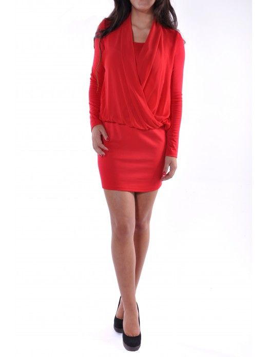 DUBLIN L/S SHORT DRESS
