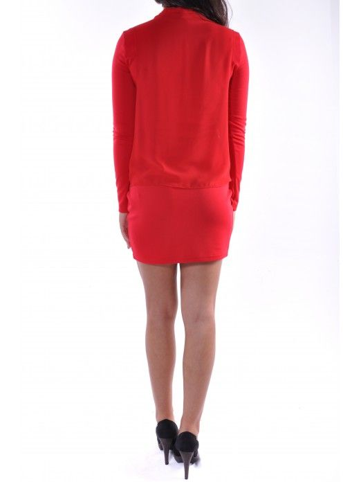 DUBLIN L/S SHORT DRESS