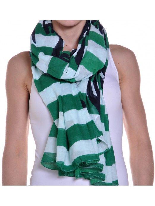 Scarf Woman Green Vero Moda