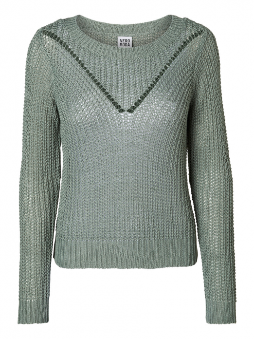 Knitwear Woman Green Vero Moda