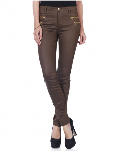 Pants Woman Chocolate Only