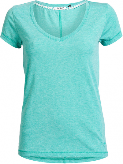 HELLA SS V-NECK TOP ESS