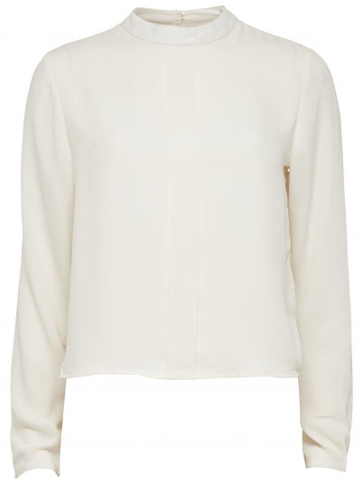 PYRALIS L/S CROPPED SHIRT WVN