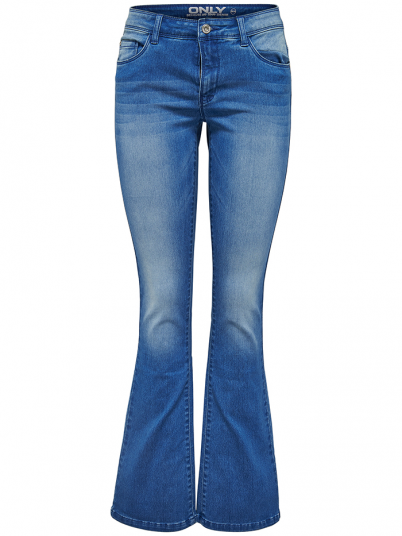 ROYAL REG SK SWEET FLARED JEANS MBLUE