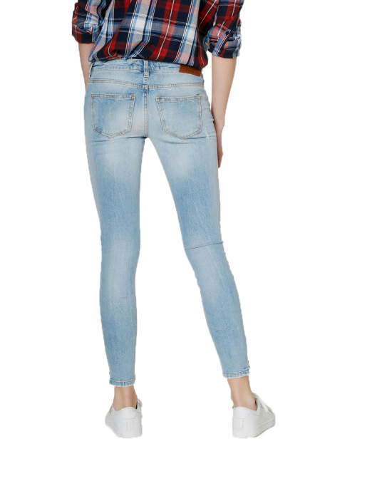 EVE LW SS ANCLE ZIP JEANS BA888 NOOS