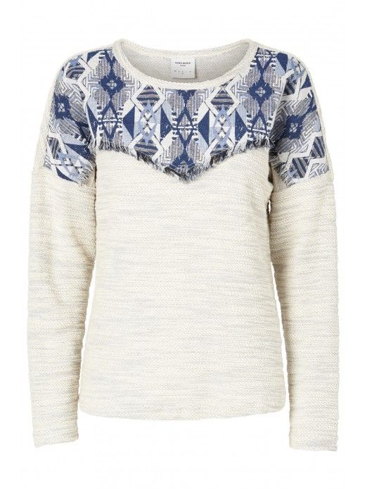 VERO MODA WOMAN SOLAN LS TOP DNM WP1 JUMPER