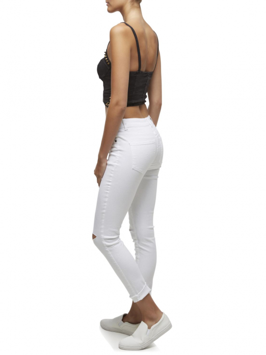 LUCY NW SUPER SLIM ANKLE CUT JEANS