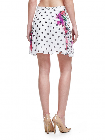 GUESS WOMAN FLOWER SKIRT