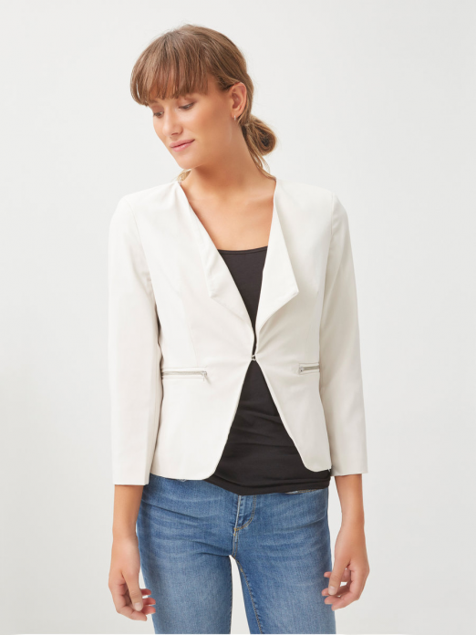 Blazer Woman Cream Vero Moda