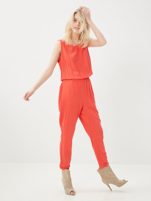 SUPER EASY SL TANK JUMPSUIT SOLID