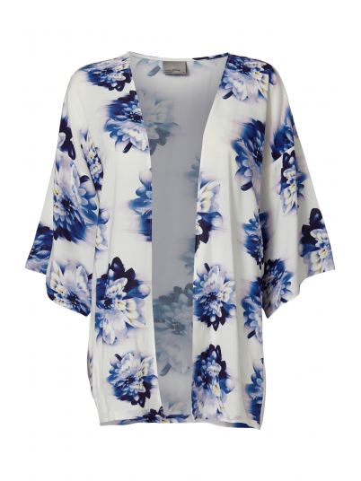VERO MODA WOMAN SUPER EASY 3/4 SHORT KIMONO PRINT TOP