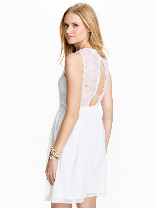 Dress Woman Cream Vero Moda