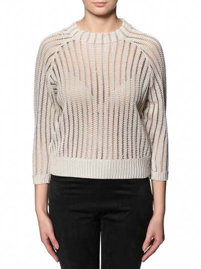 KALLI 3/4 CROPPED PULLOVER KNT