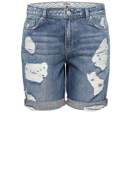 Shorts Woman Dark Jeans Only