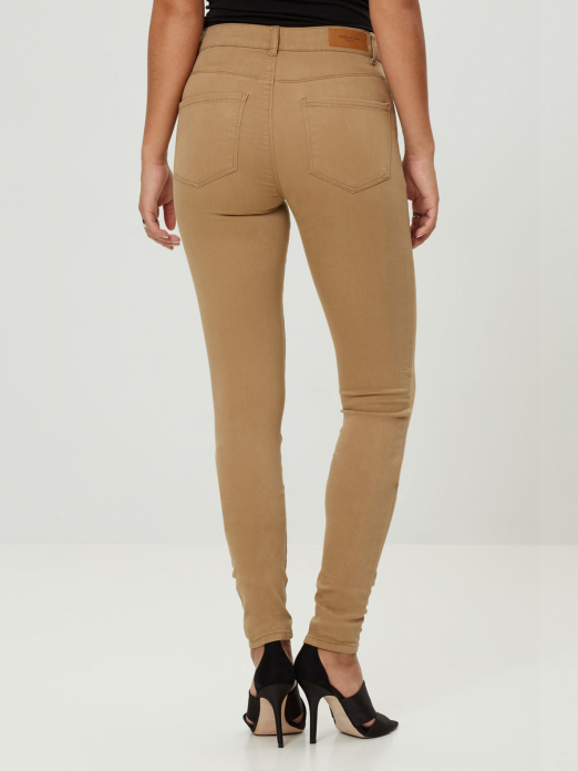 VERO MODA WOMAN SEVEN NW SS SMOOTH JEANS CLR NS TROUSERS