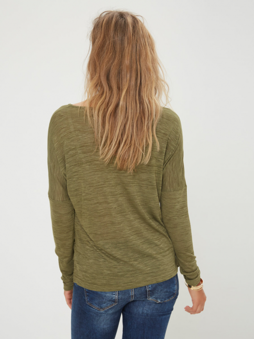 Sweatshirt Woman Green Vero Moda