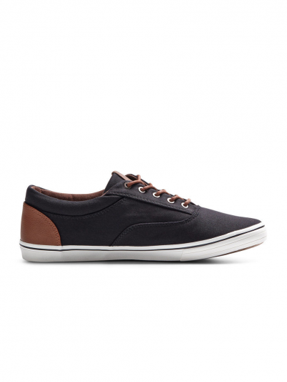 VISION MIXED CANVAS SNEAKER ANTHRACITE