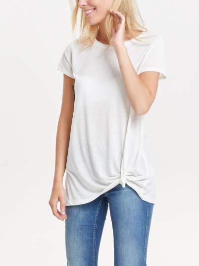 NOHO S/S KNOT TOP JRS