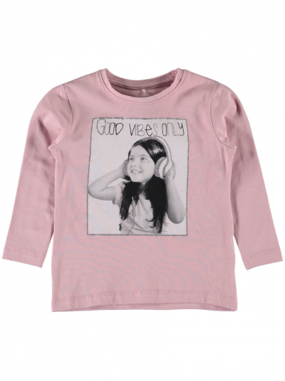 Sweatshirt Girl Rose Name It