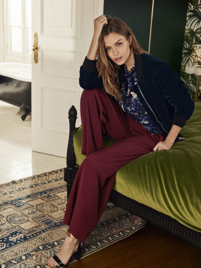 VERO MODA WOMAN DANA HW WIDE DNM A TROUSERS