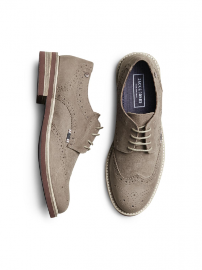 SMART NUBUCK BROGUE SHOE