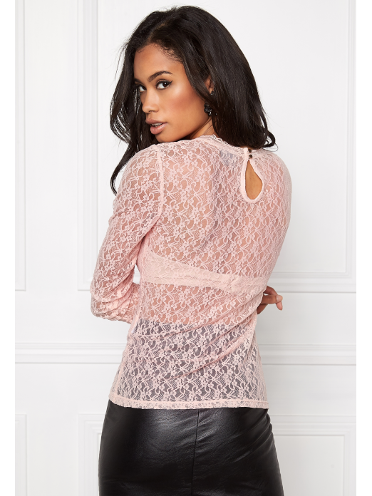 TOP MULHER AMY LACE LS JRS A K VERO MODA