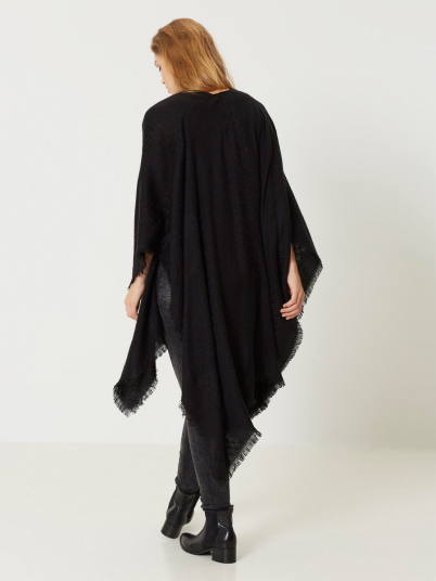 Poncho Woman Black Vero Moda