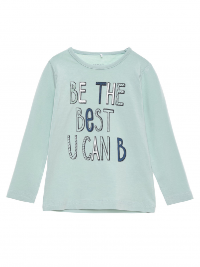 Sweatshirt Girl Light Green Name It