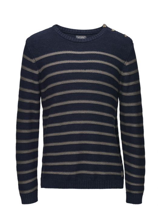 VSAILOR KNIT CREW NECK