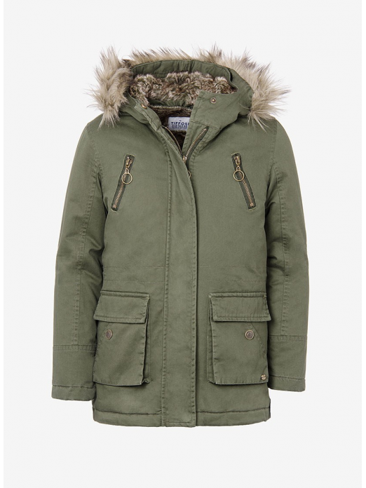 Jacket Girl Dark Green Tiffosi Kids