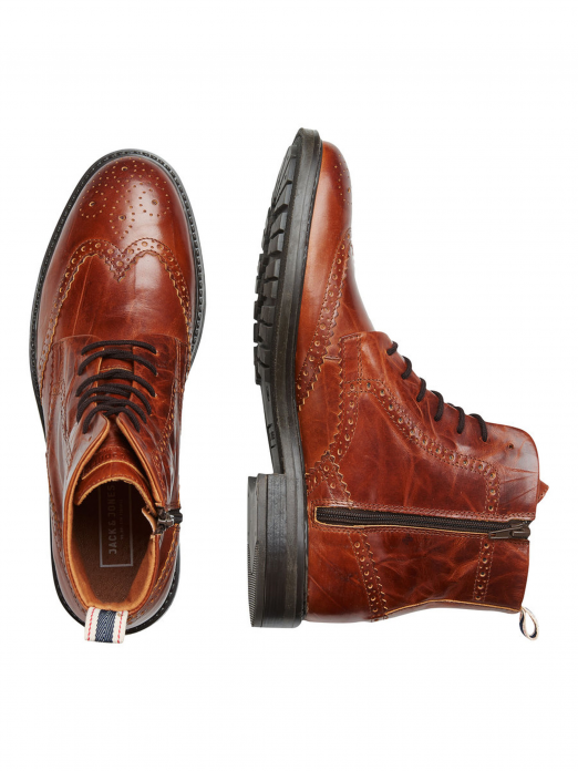 FWHUGH LEATHER BROGUE BOOT