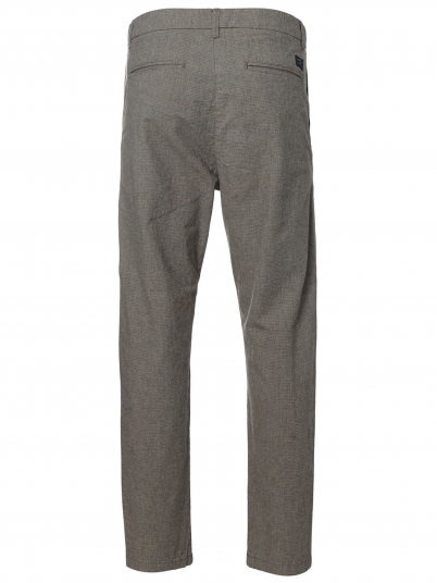 WULF LT. GREY TAPERED ST PANTS