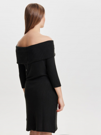 FIFTH L/S OFF SHOULDER DRESS
