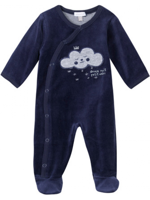 Babygrows Baby Girl Navy Blue Absorba