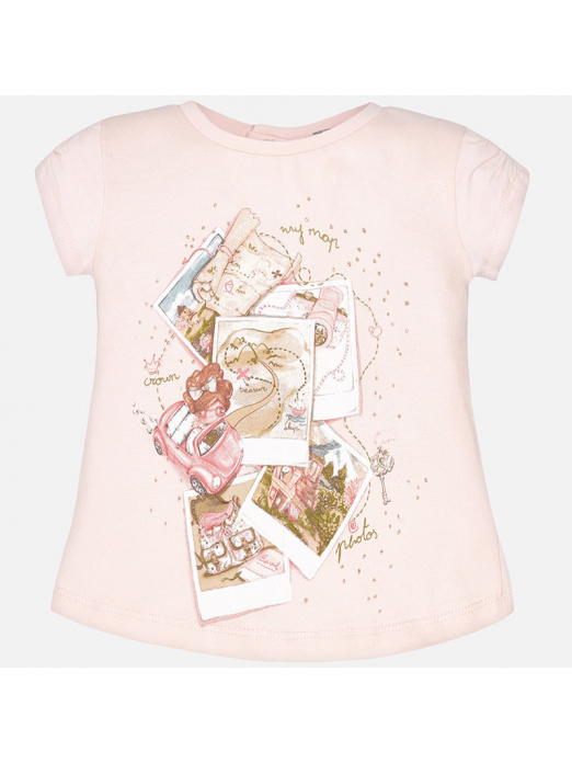 Camisola bebé menina manga curta fotografias