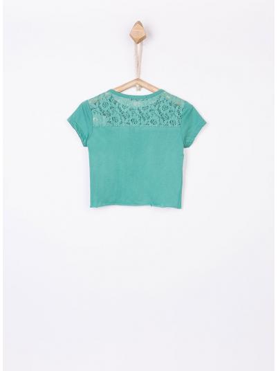 Camiseta Niña Verde Tiffosi Kids