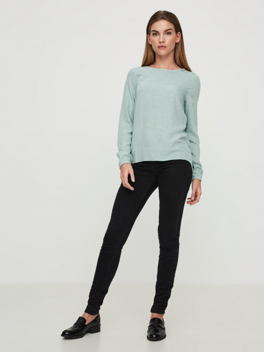 VERO MODA WOMAN ASTA LS BLOUSE NOOS TOP