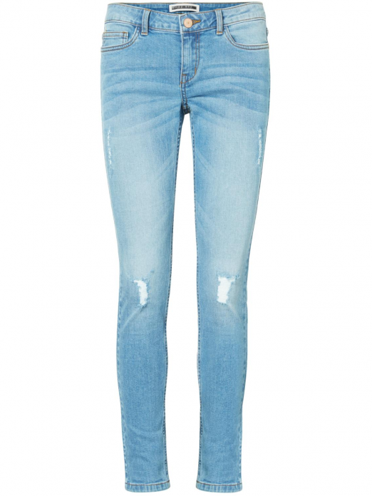 EVE LW S.S. DESTROY JEANS LIGHT BLUE JEANS17