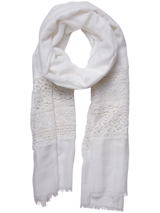 Scarf Woman White Vero Moda