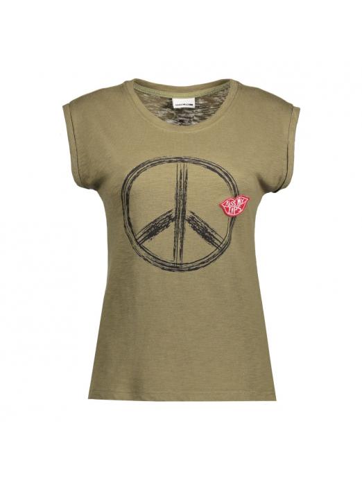 PEACE S/S TOP 3X