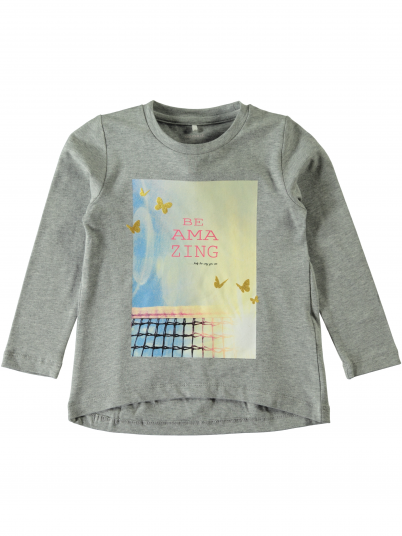 Sweatshirt Niña Gris Name It