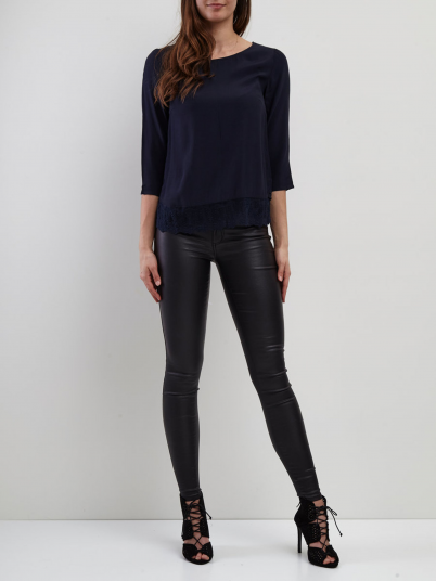 Shirt Woman Navy Blue Vila