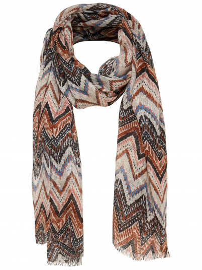 Scarf Woman Beige Only